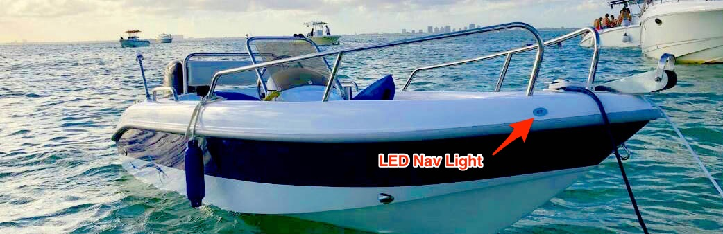 boat water sardine marine led nav light florida
