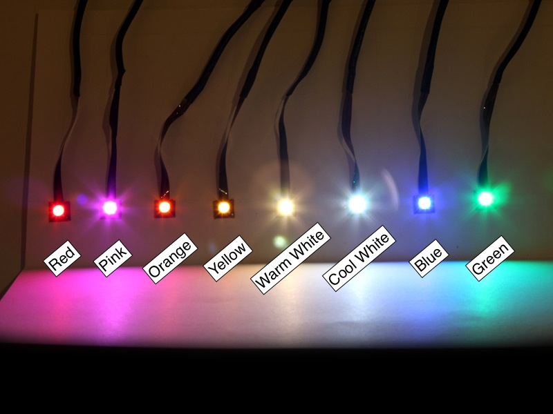 Prewired LEDs