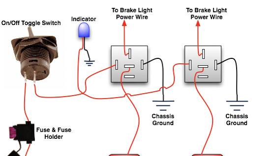 installing a rear brake light kill switch top forum picks oznium headlight toggle switch wiring installing a rear brake light kill switch oznium blog
