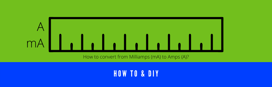 How to convert from Milliamps (mA) to Amps (A)?