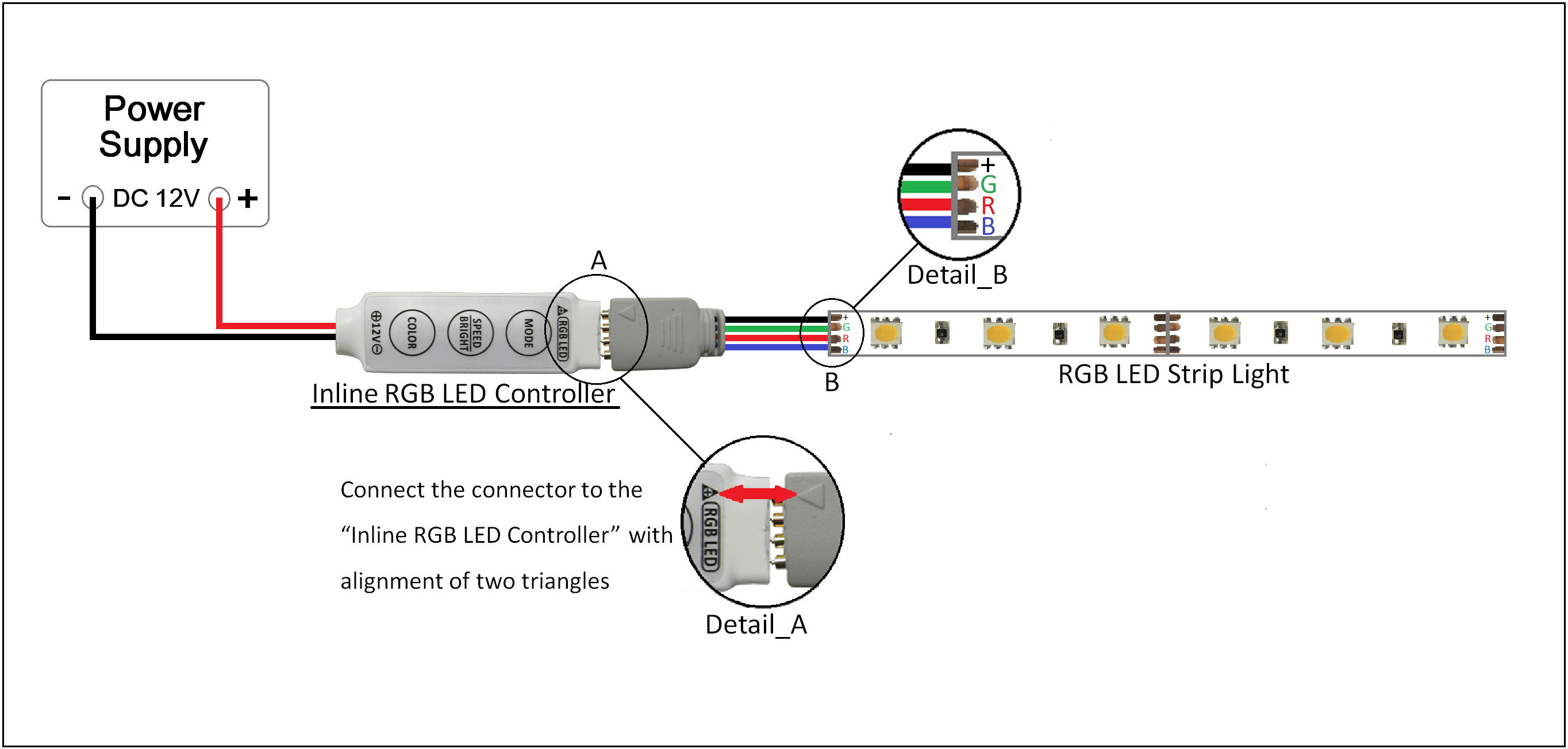 Diagram RGB LED controller led lighting circuit diagram ireleast readingrat net T8 LED Wiring Diagram at reclaimingppi.co