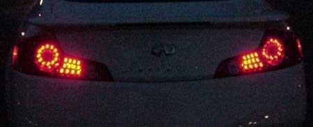 2004 Infiniti G35 LED Taillights