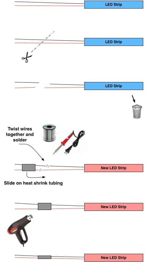 LED Wiring splice