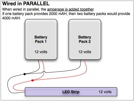 Battery Wiring in Parallel