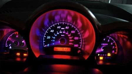 Changing dash lights