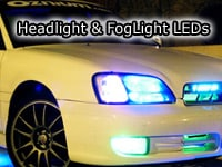 led headlight glow leds