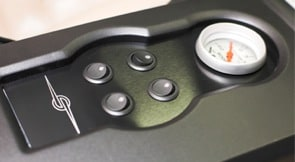 Round Rocker LED Switch - Panel Mount Example
