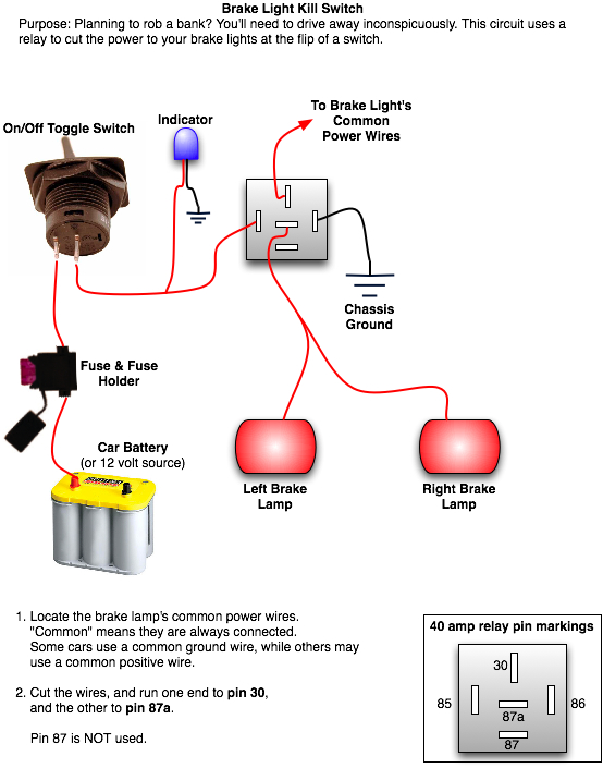 Installing a Rear Brake Light Kill Switch | Top Forum Picks - Oznium BlogOznium