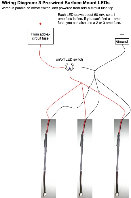 PreWired LED s  Fusing       Wiring    in Parallel   Oznium Forum