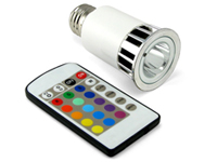 Extreme Million Color LED Bulb